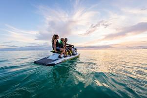 jet ski water hook up
